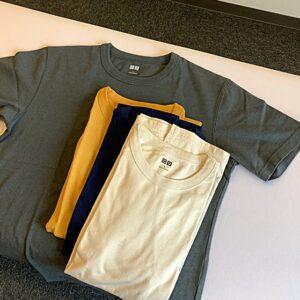 着替えのTシャツを新調